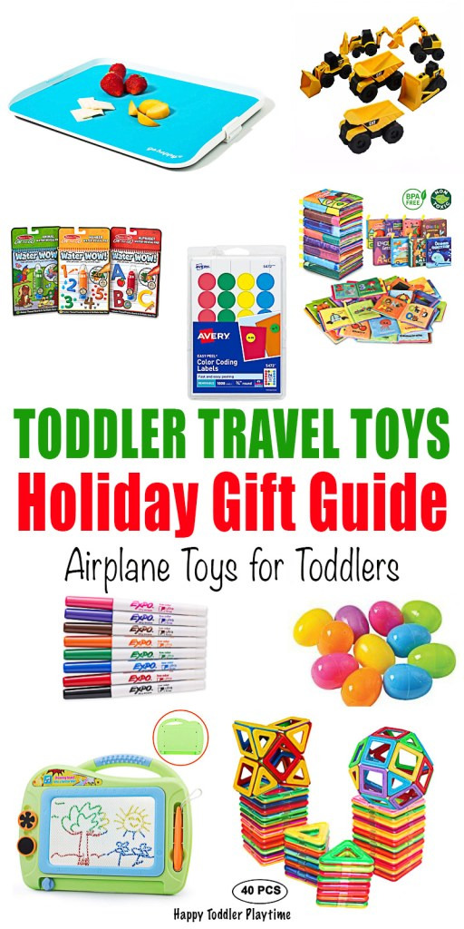 Toddler Travel Toys Holiday Gift Guide Happy Toddler Playtime