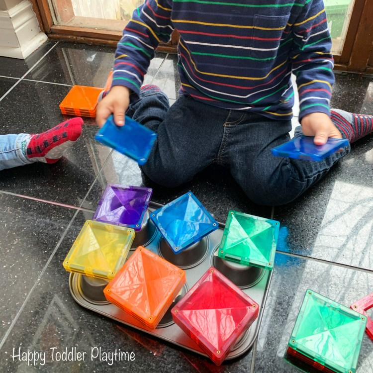 Color activity for toddlers and preschoolers