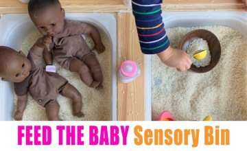 feed the baby toddler activity