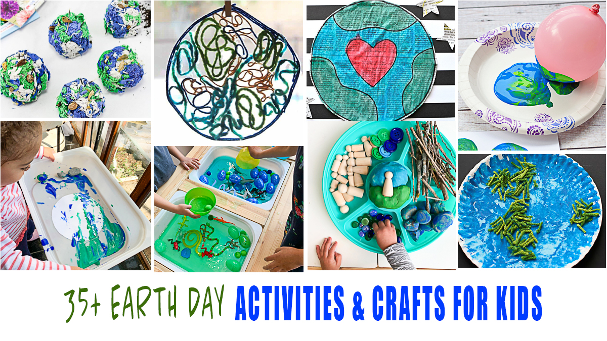 Earth Day Activities & Crafts for Kids