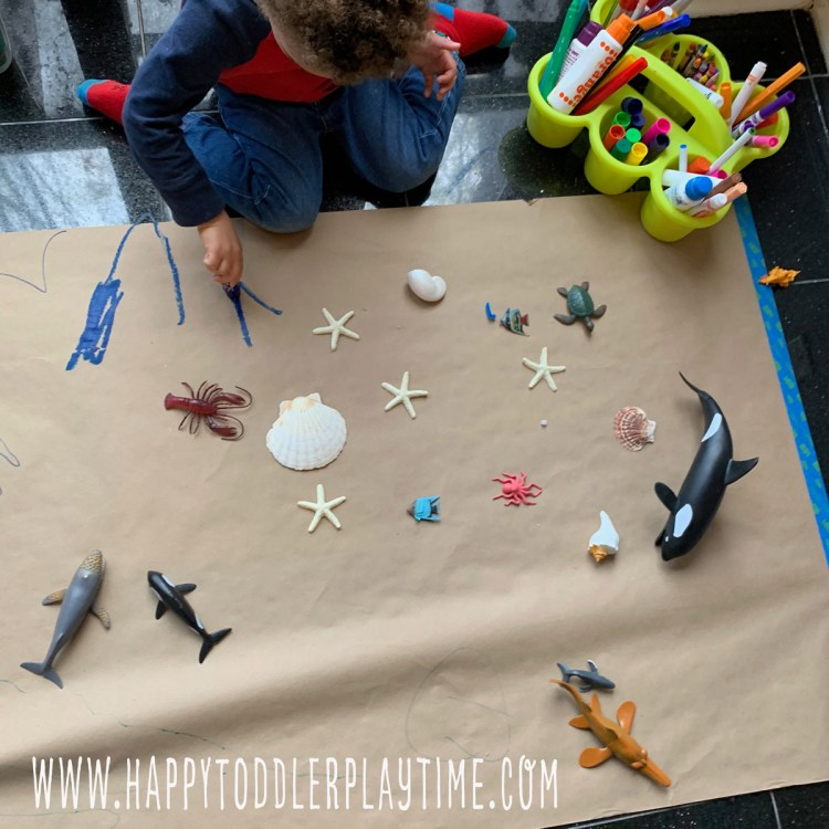 Create an Aquarium: An Easy Art Activity