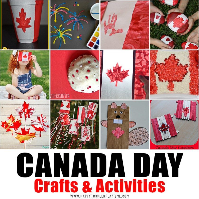 Canada Day crafts and activities