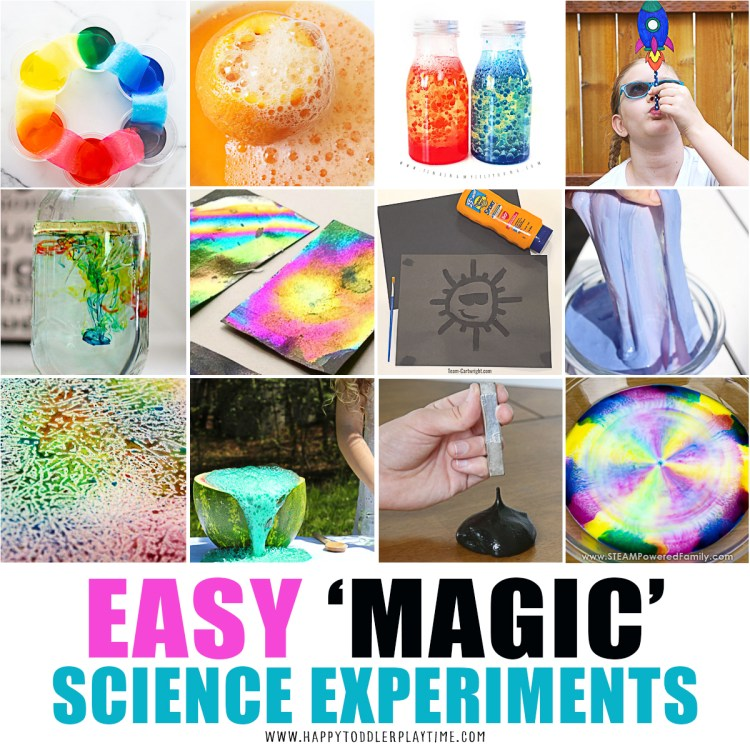 Easy Magic Science  Experiments