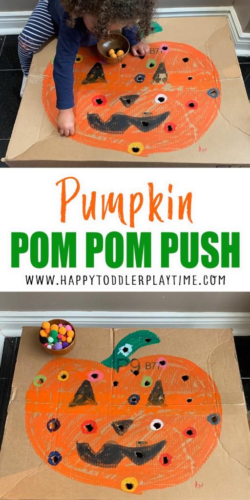 pumpkin Pom Pom push