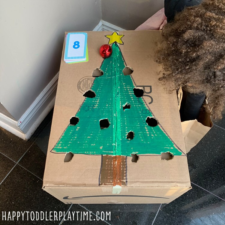Christmas Decoration Counting Game