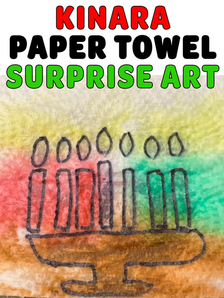 Kinara Paper Towel Surprise Art