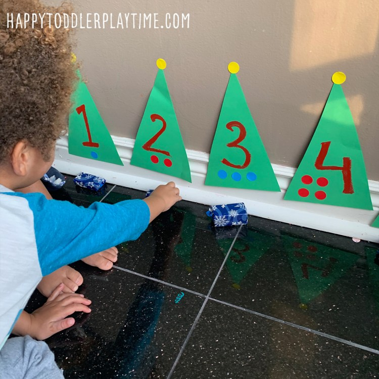 Counting Christmas Presents Activity