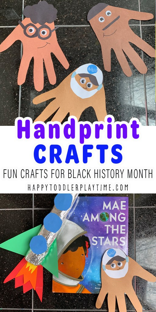 Handprint Crafts for Black History Month