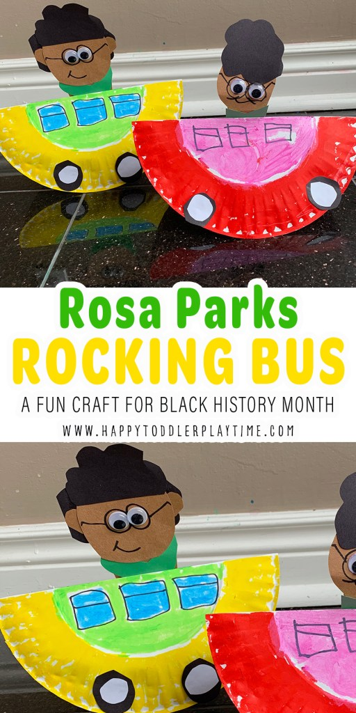 Rosa Parks Rocking Bus Craft