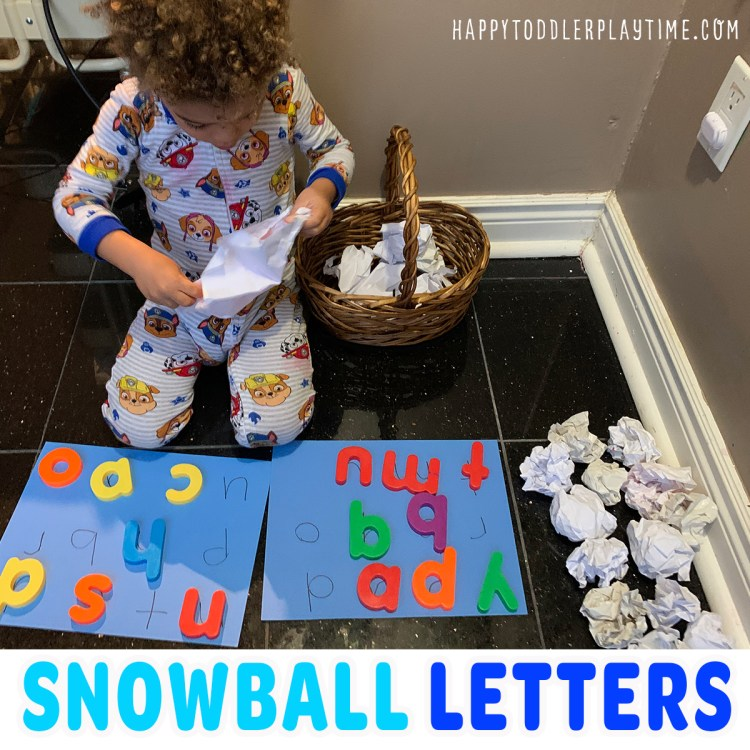 Snowball Letter Unwrap