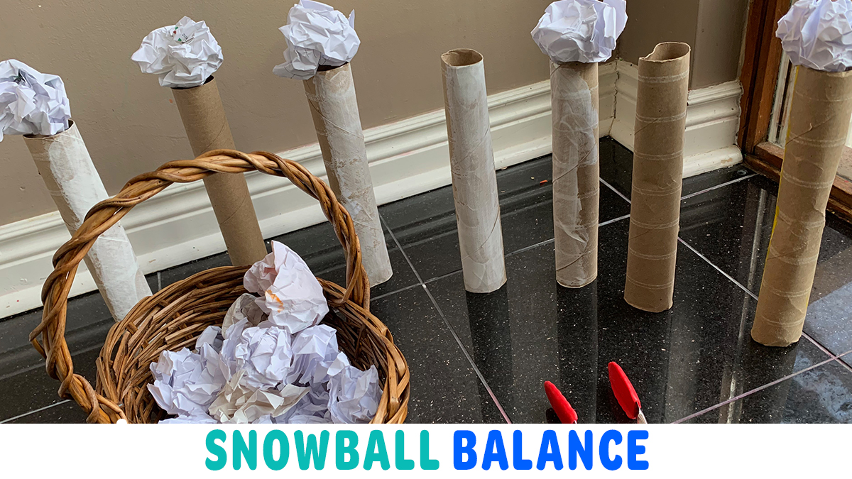 Snowball Balance: Winter STEM