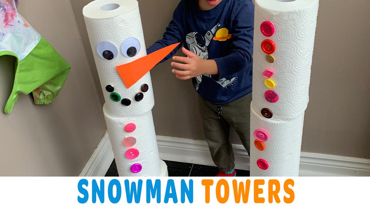 Snowman Towers: Build a Snowman