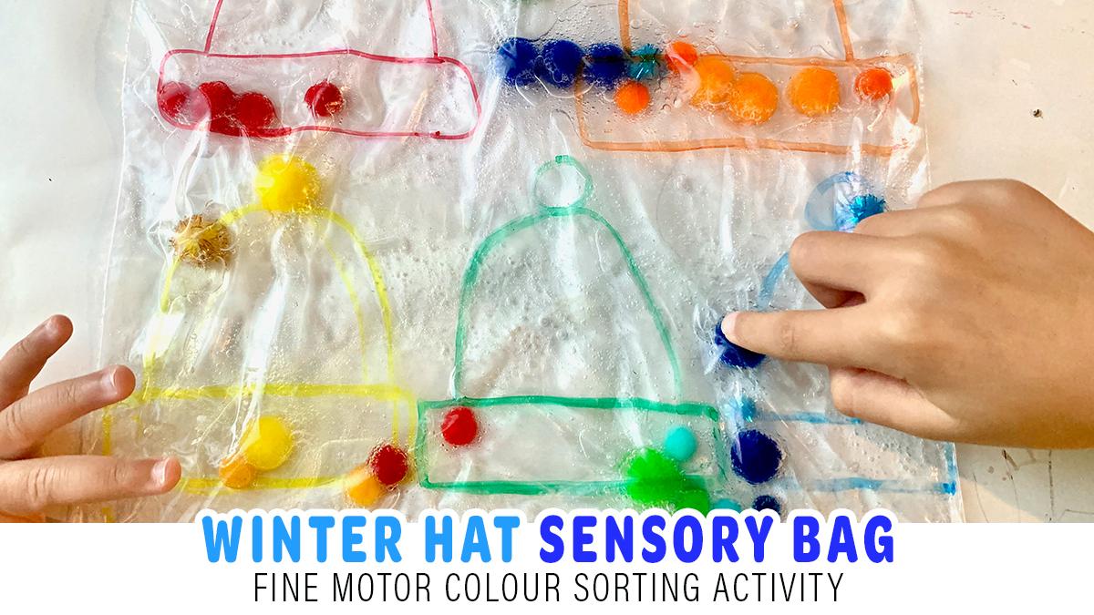 Winter Hat Sensory Bag