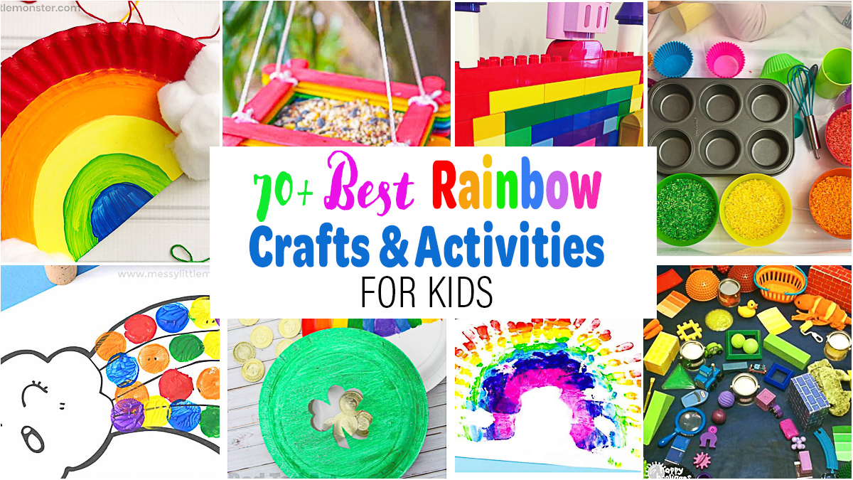 70+ of the Best Rainbow Crafts & Activities for Kids