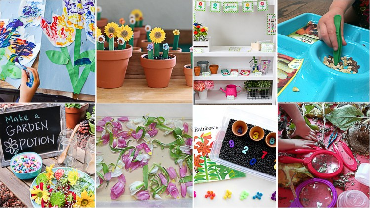 Best Garden Themed Crafts & Activities for Kids