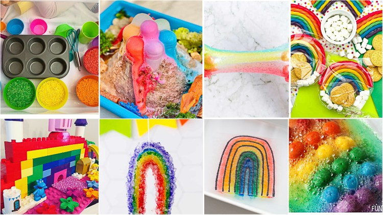 70+ Rainbow Crafts & Activities for Kids