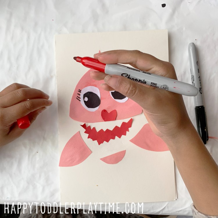 Adorable Mommy Shark Mother's Day Card