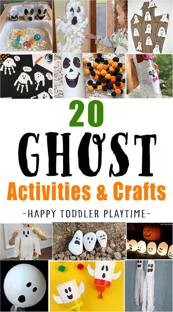 Ghost crafts and activities