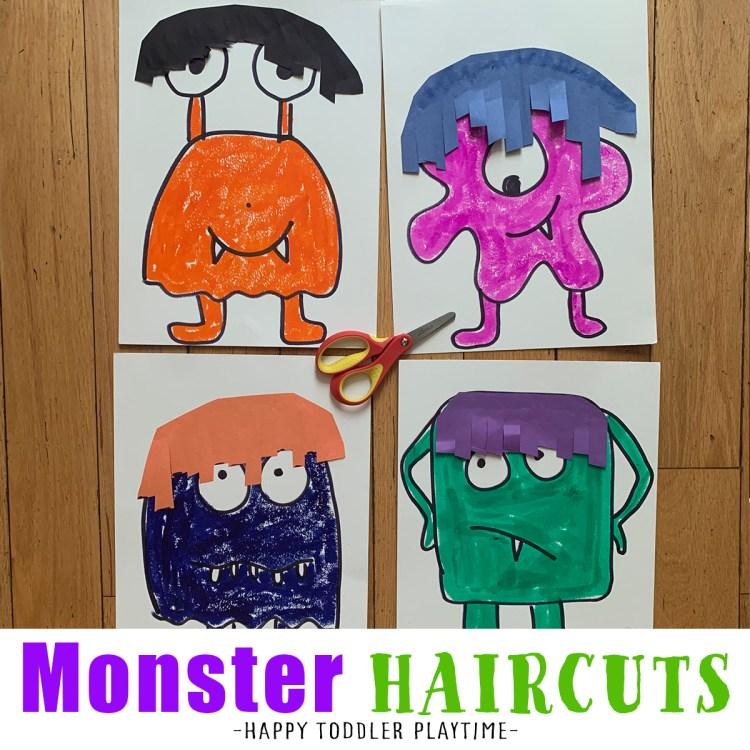 monster haircuts