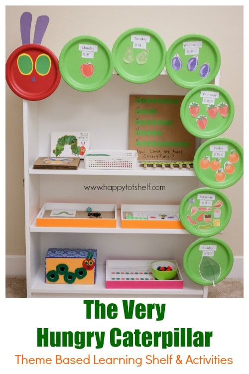 The very hungry caterpillar theme activities for kids