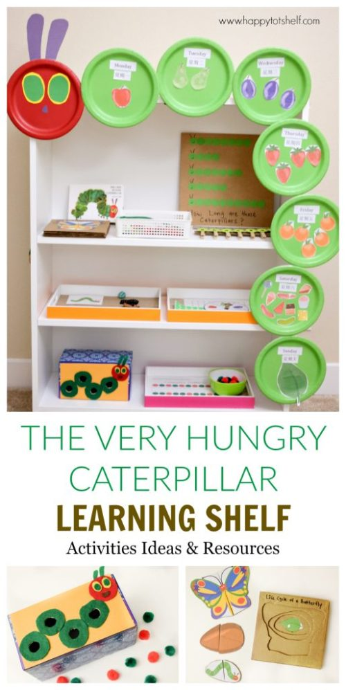 The Very Hungry Caterpillar Learning Activities Shelf Happy Tot