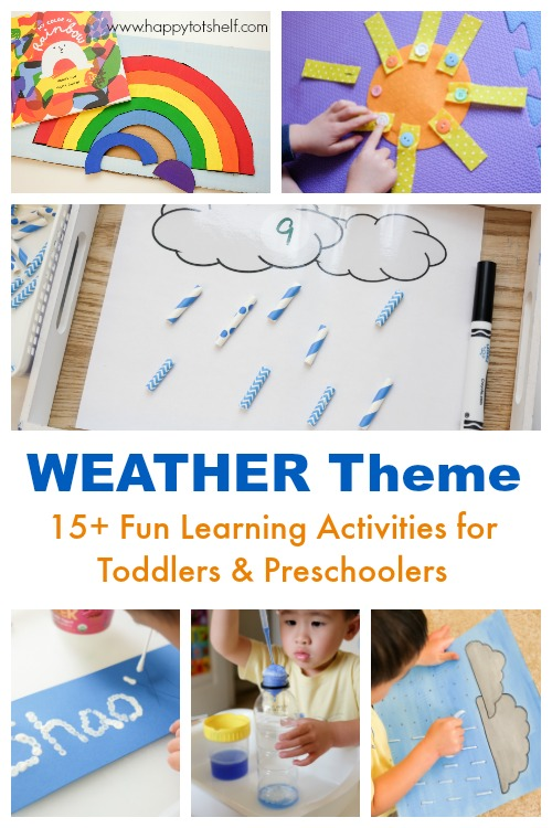 Weather theme learning activities