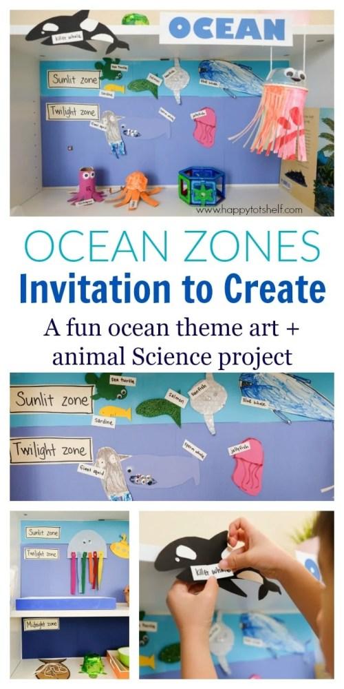 ocean zones activity for kids