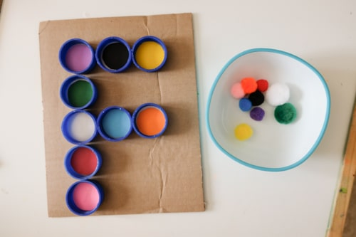 F is for farm fine motor activity