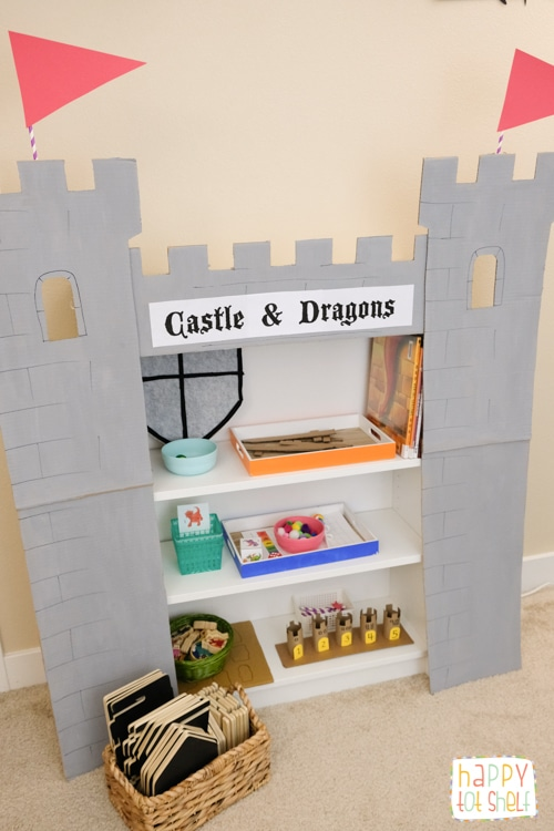 Castle theme learning activities