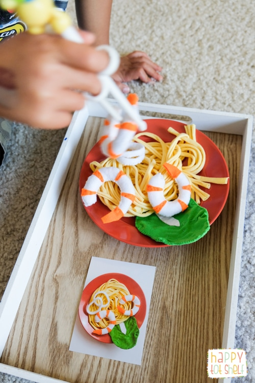 Heartfelt makan Hokkien mee theme activities for kids
