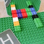 Exploring letter symmetry with duplo