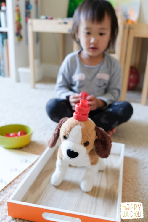 Balance apples fine motor activities for toddlers