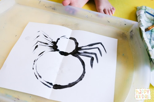 Spider activity for kids