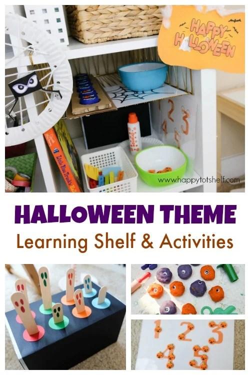 Halloween theme activities for kids