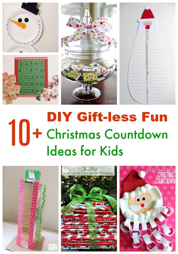 Christmas Countdown for Kids Advent Calendar Ideas