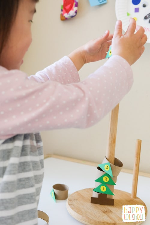 DIY stacking toy for kids