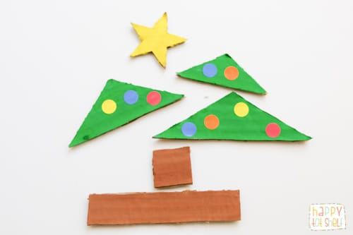 Christmas tree puzzle