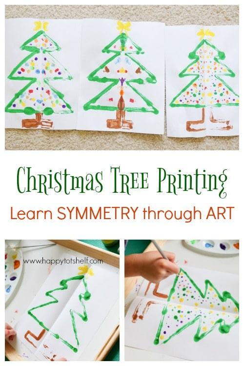 Symmetry Christmas Tree Printing