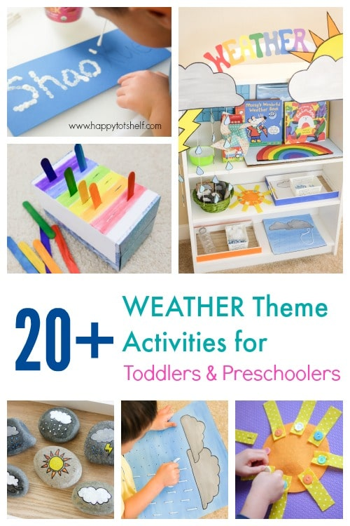 Weather Theme Activities for Kids