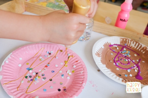 Paper Plate Ice Cream Craft for kids