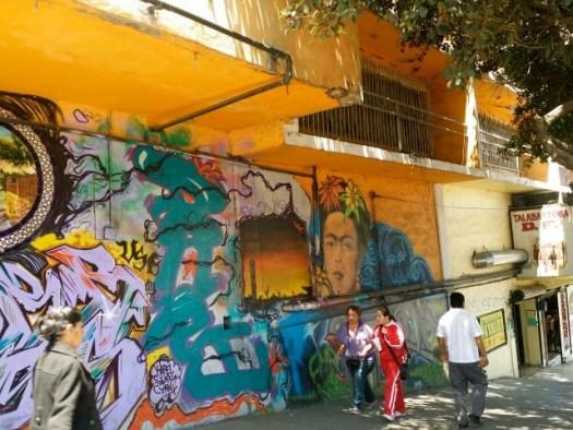 ティファナの壁画