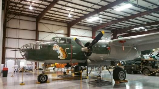 復元されたアメリカ軍の戦闘機1