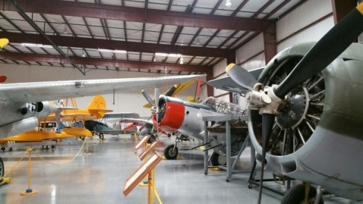 復元されたアメリカ軍の戦闘機3