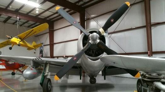 復元されたアメリカ軍の戦闘機132240