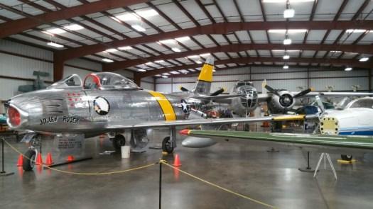 復元されたアメリカ軍の戦闘機132250