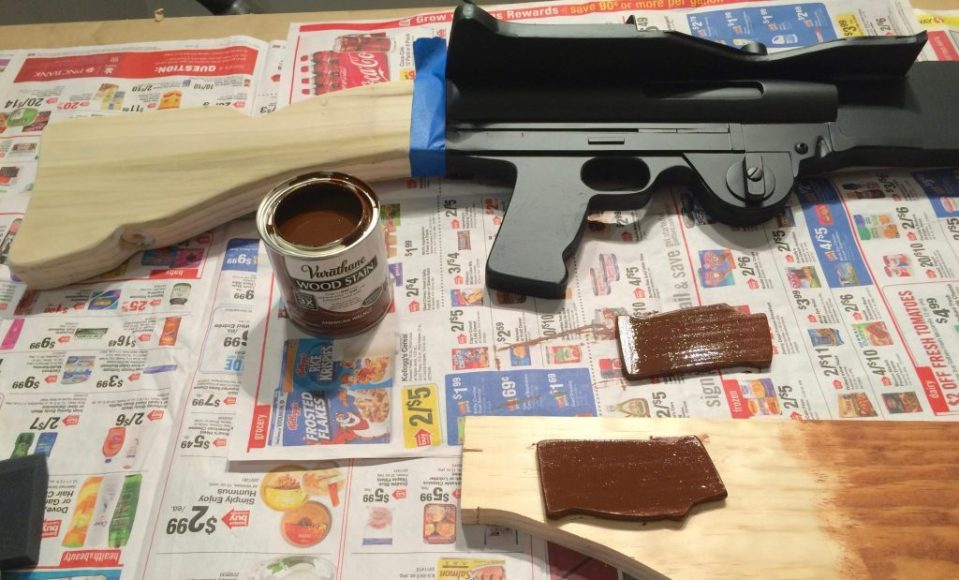 T-21 blaster natural wood finish stain