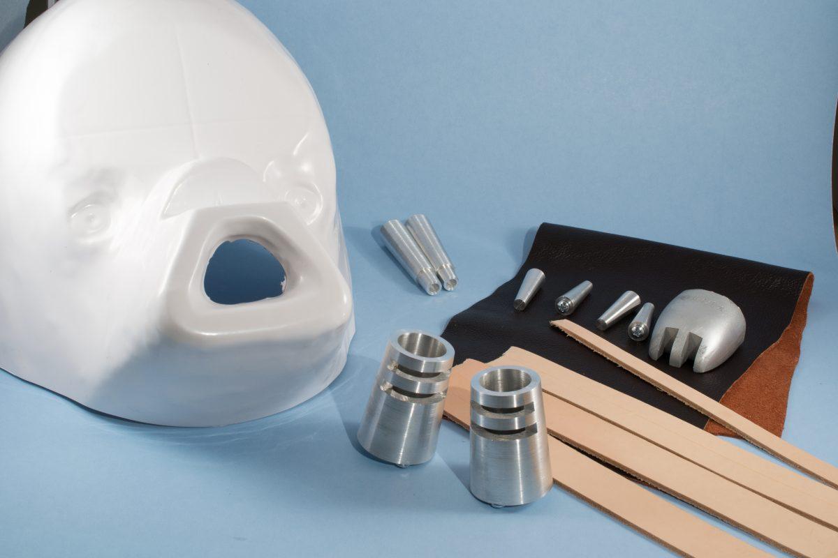 Tusken Raider Mask Parts