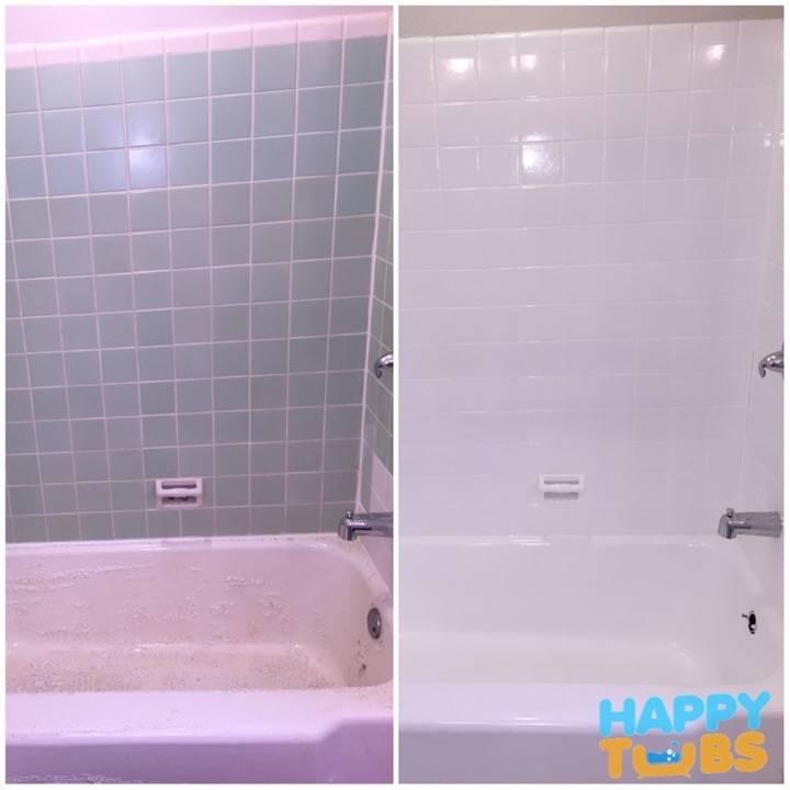 Tile Refinishing - Happy Tubs Tile Refinish