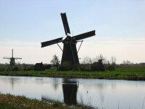 102 moulins de Kinderdijk