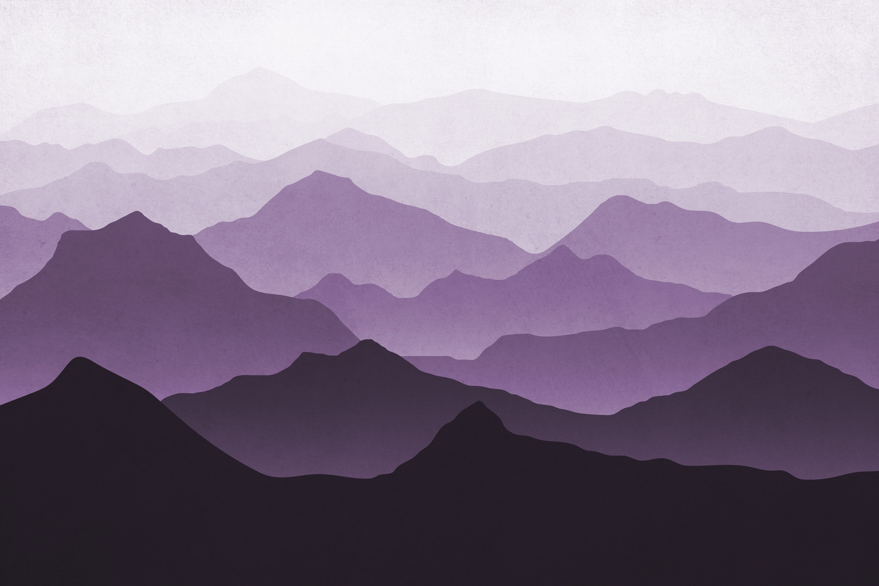 Buy Purple Mountains Ii Wall Mural Free Us Shipping At